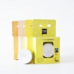 Fairtrade læbepomade der giver fugt og beskytter