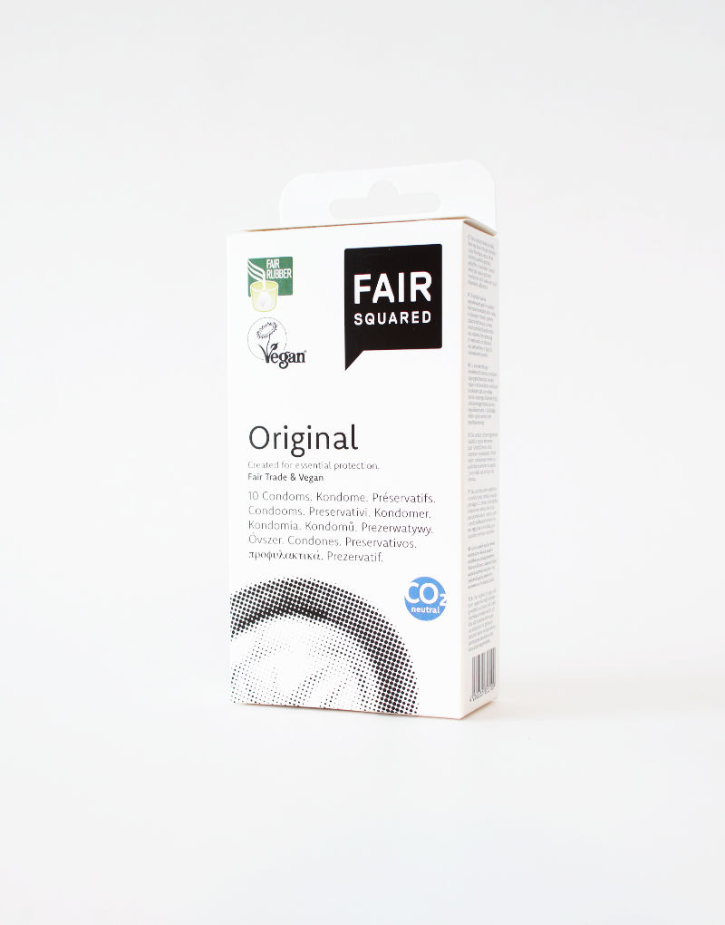 Certificerede veganske kondomer i høj kvalitet